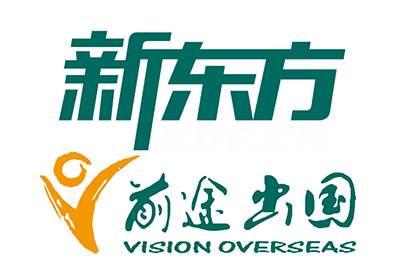 新东方前途出国logo