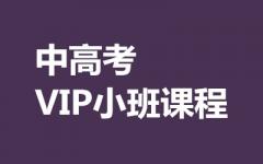 中高考VIP小班课程