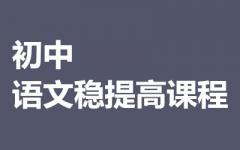 初中语文提高课程